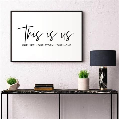 printable family sign home decor