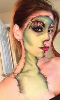 Cool Face Paint Makeup for Halloween