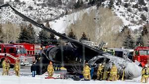 Jet crashes on landing at Aspen, Colorado, airport ...
