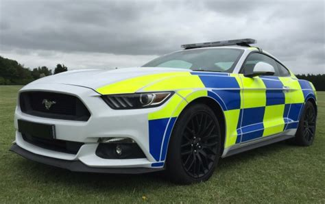 Ford Mustang Gt Could Become A British Police Car