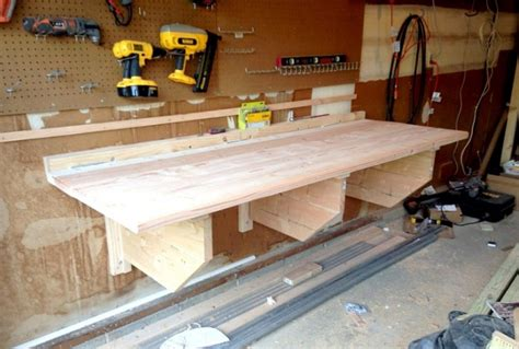 diy folding workbench woodworking session