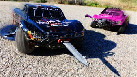We Built Weapons On Rc Cars & Battled In A Demolition
