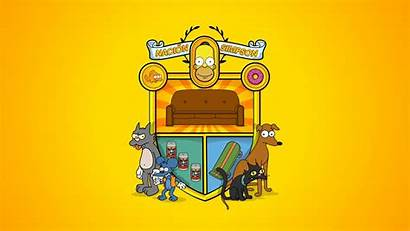 Simpsons Desktop Simpson Homer Wallpapers Backgrounds Mobile