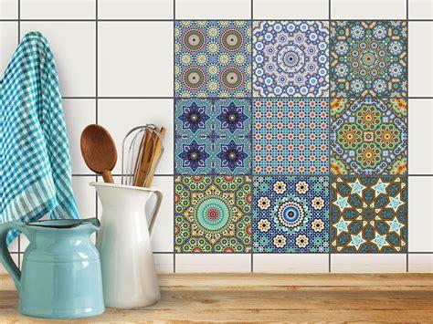 Fliesenspiegel Küche Orientalisch by Fliesenaufkleber Fliesenspiegel Set Orientalisches
