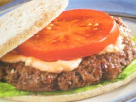 I did make a few small changes. LEAN BEEF BURGERS | Diabetic recipe with ground beef, Food recipes, Food