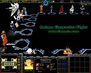 Anime Character Fight V27a Getdota Map