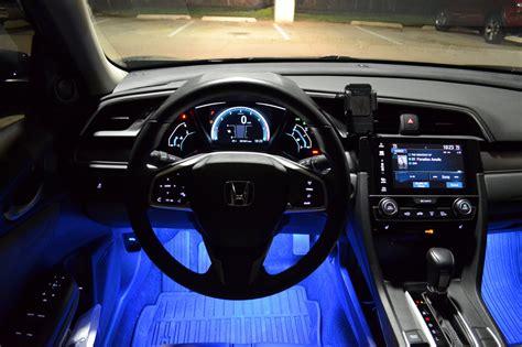 galaxy rider ledglow interior lighting kit  honda