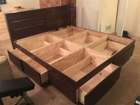 designed wooden bed box designs  price modern wooden