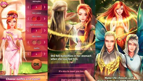 fantasy love story games  pc android apps  pc