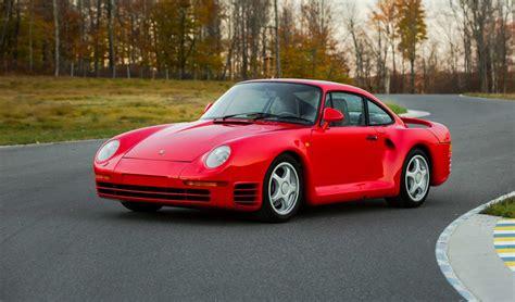Rare 1987 Porsche 959 'Komfort' at Monterey