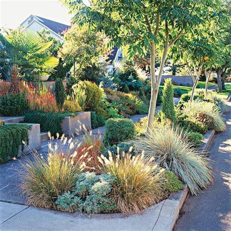 front yard sidewalk garden ideas gardens front yards