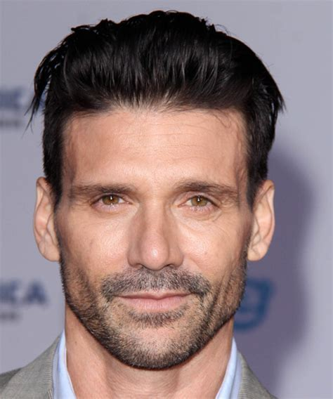 Frank Grillo Short Straight Formal Hairstyle   Black Hair