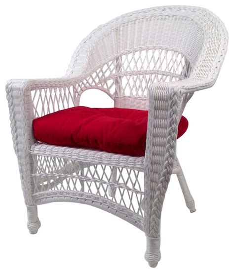 cape cod wicker chair white traditional outdoor lounge