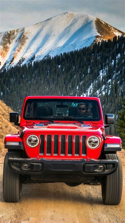 jeep wrangler red offroad iphone wallpaper iphone wallpapers