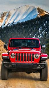 Jeep-Wrangler-Red-Offroad-iPhone-Wallpaper - iPhone Wallpapers