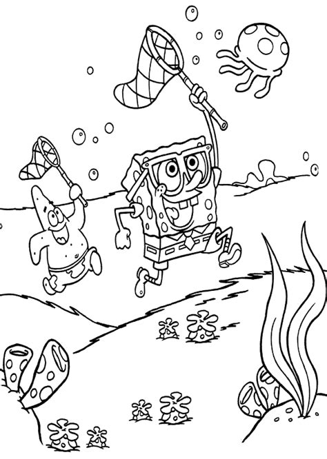 Coloring Pages by Spongebob Squarepants Coloring Pages Learn To Coloring