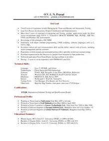 sle resume for qtp automation testing exle of sql developer resume adam souder2115 irwin dr