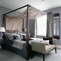 four bedroom four poster bedroom with silks and velvets housetohome co uk