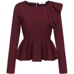 dressy blouse best 25 sleeve peplum top ideas on