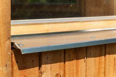 Metal Window Sill by Galvanized Sheet Metal Stock Images 5 534
