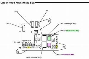 1993 Honda Prelude Fuse Box Diagram  Honda  Auto Wiring Diagram