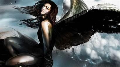 Angel Fantasy Artwork Background Desktop Wallpapers Backgrounds