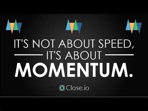 sales motivation quote    speed