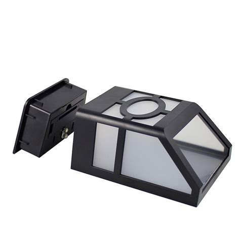 solar led exterior wall light wall sconce high lumen for