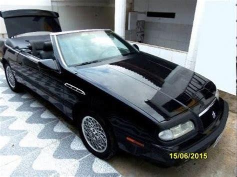 chrysler le baron cabrio chrysler lebaron cabrio 3 0 v6 1993