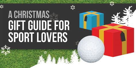 christmas gift guide  sport lovers golfsupport blog