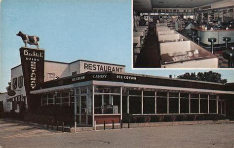 Country Cupboard Lewisburg Pa Menu by Bechtel S Restaurant Dairy Lewisburg Pa Postcard
