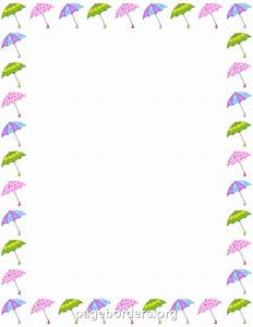 Spring Page Border Clipart (50+)