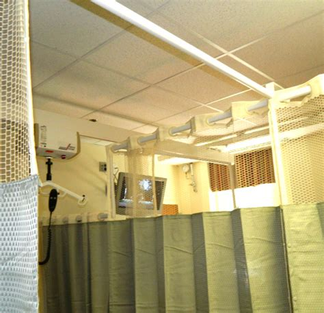 curtain track rail support system barrier free lifts