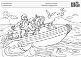 Rescue Sea Colouring Competition Boat Isizulu Nsri Whole Imibala Afrikaans Za sketch template