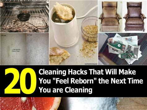 cleaning hacks 20 cleaning hacks that will make you quot feel reborn quot the next time you are cleaning