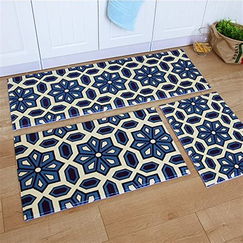 ustide  piece bohemia washable bathroom rug kitchen rug