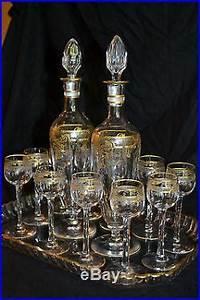 Service De Verre En Cristal : service liqueurs cristal saint louis dor grav verres cristal st louis ~ Teatrodelosmanantiales.com Idées de Décoration
