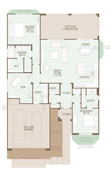 saddlebrooke ranch dolce floor plan   sf