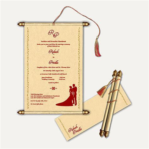 scroll wedding cards  rs  piece andheri east