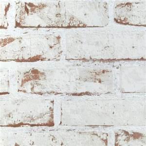 Pose De Papier Peint Intissé : papier peint intiss d cor briques blanc rouge ~ Dailycaller-alerts.com Idées de Décoration