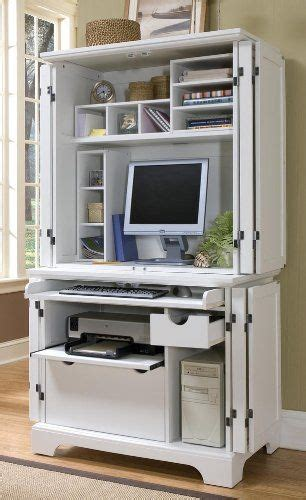 Computer Desk With Doors That Close Sun Room Sewing