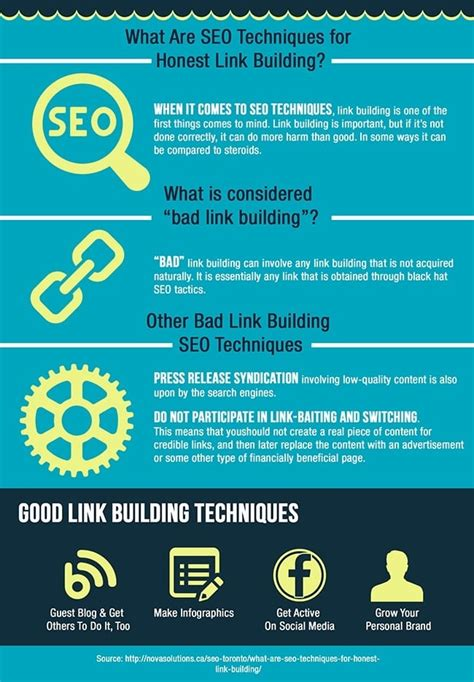 seo techniques what are seo techniques for honest link building