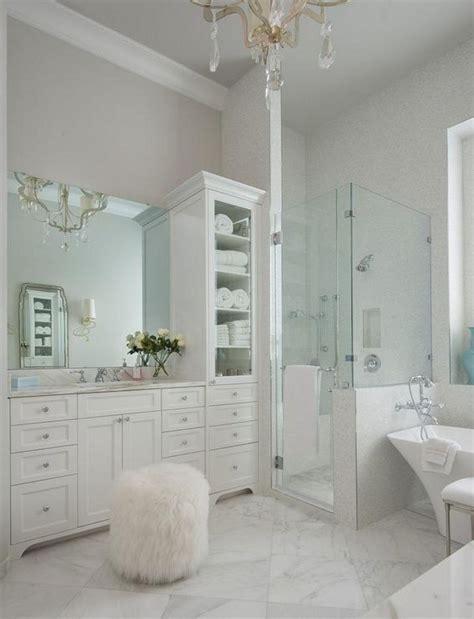 elegant white bathroom vanity ideas   beautiful