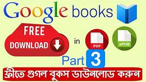 How To Download Google Books For Free In Pdf Fully Without