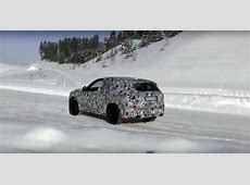 2018 BMW X3 Drifts a Little in the Snow, Looks More of an