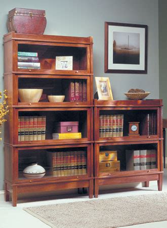 Lawyers Bookcase Plans - barrister s bookcase woodsmith plans