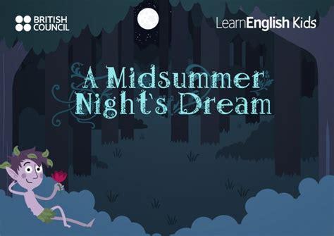 midsummer nights dream  kids teachingenglish