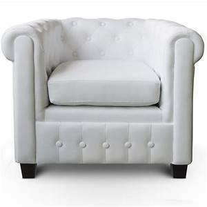 Fauteuil Chesterfield Pas Cher : fauteuil chesterfield ~ Teatrodelosmanantiales.com Idées de Décoration