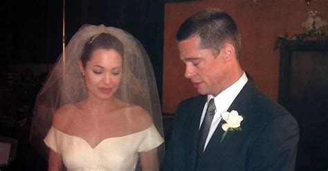 Inside Angelina Jolie And Brad Pitt's Fairytale Wedding