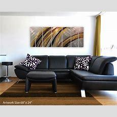 Modern Abstract Metal Wall Art Painting Sculpture Home